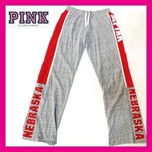 VS Pink NEBRASKA  Sport Yoga Pants